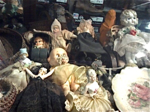 Creepy dolls, 200 miles and 50 years from the nearest Starbucks